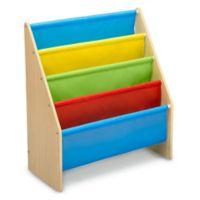 Delta Children Sling Book Rack Bookshelf in Natural/Primary