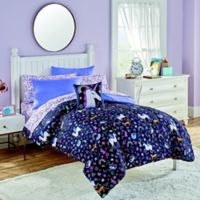 Magical World Twin Comforter Set in Purple/Multi