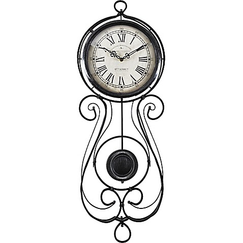 Firstime 174 Chateau Betton Pendulum Wall Clock Bed Bath