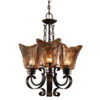 Uttermost 3-light Oil-rubbed Bronze Vetraio Chandelier