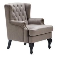 Serta® Polyester Upholstered Mason Chair in Taupe