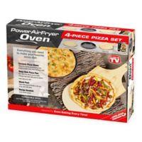 Power Air Fryer Oven 4-Piece Pizza Kit