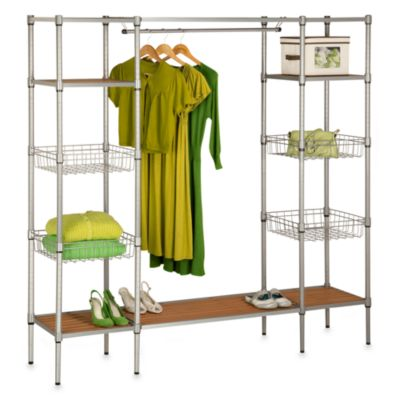 Honey Can Do Free Standing Closet