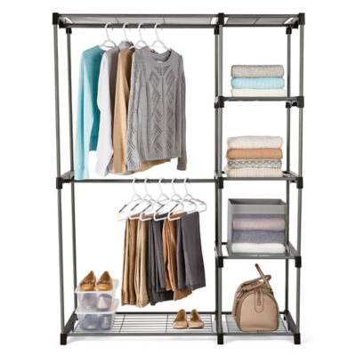 Product Image For Honey Can Do® 68 Inch Steel Freestanding Wardrobe Closet