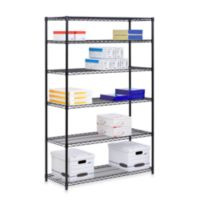 Honey-Can-Do Brushed Steel 6-Tier Shelving Unit