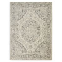 Nourison™ Tranquil Persian 5'3 x 7'3 Area Rug in Ivory/Grey