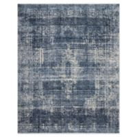Magnolia Home By Joanna Gaines Kennedy 7'10 Round Area Rug in Denim
