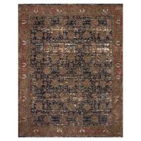 Magnolia Home By Joanna Gaines Kennedy 7'10 Round Area Rug in Blue/Multi