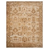 Magnolia Home By Joanna Gaines Kennedy 7'10 Round Area Rug in Sand/Copper