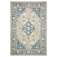 Magnolia Home By Joanna Gaines Ryeland 9'3 x 13' Area Rug in Grey/Blue