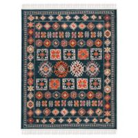 Safavieh Farmhouse 3' x 5' Nightfall Rug in Navy