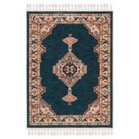 Safavieh Farmhouse 3' x 5' Willow Rug in Navy