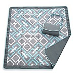 JJ Cole® All-Purpose Outdoor Blanket in Grey Links