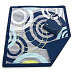 JJ Cole® 5-Foot x 5-Foot All-Purpose Outdoor Blanket in Blue Orbit