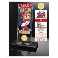 Patrick Mahomes MVP Ticket Acrylic