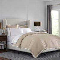 Martex® Hotel Ultra Soft King Duvet Cover Set in Khaki/White