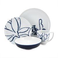 Nikko Artist Blue 4-Piece Porcelain Place Setting