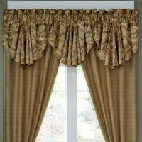 Croscill® Ashton Scalloped Window Valance in Gold