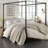Stone Cottage Oakdale Full/Queen Reversible Comforter Set in Grey