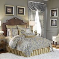 Croscill® Nadia King Comforter Set in Light Grey