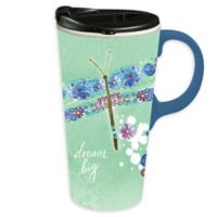 Evergreen Dream Big Ceramic Travel Cup