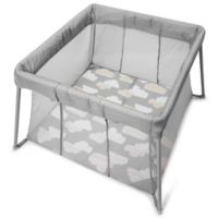 Skip*Hop® Play to Night Expanding Travel Crib in Grey