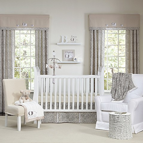 The Sweet Safari by Wendy Bellisimo™ 5-Piece Crib Bedding Set