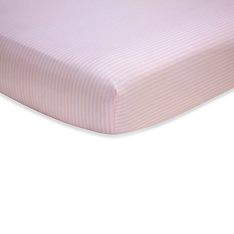 Sweet Safari by Wendy Bellisimo™ Fitted Crib Sheet in Pink
