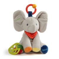 GUND® Flappy the Elephant Activity Plush Toy in Grey