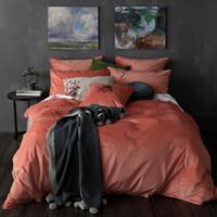 Velvet Full/Queen Duvet Cover Set in Cameo