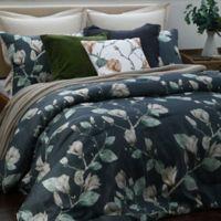 Magnolia Full/Queen Comforter Set in Charcoal
