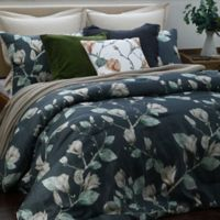 Magnolia King Comforter Set in Charcoal