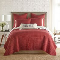 Bee & Willow™ Home Holden Reversible King Quilt in Burgundy