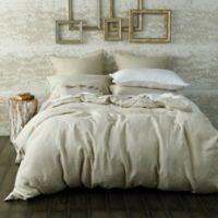 Laundered Linen King/California King Duvet Cover Set in Natural