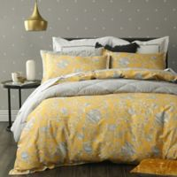 Simone King/California King Duvet Cover Set in Yellow