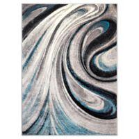 Home Dynamix Boho Odette 7'9 x 10'2 Area Rug in Gray/Blue