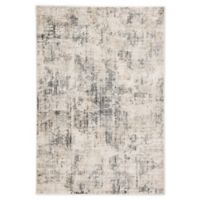 Jaipur Eero Abstract 2' x 3' Accent Rug in Grey/Ivory