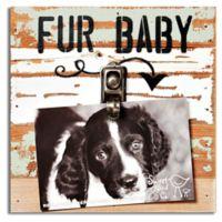 Sweet Bird & Co. Fur Baby Clip Frame in Seafoam