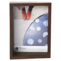 Umbra Edge 5-Inch x 7-Inch Photo Display in Walnut