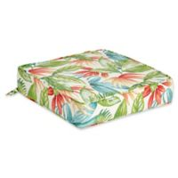 Outdoor Deep Seat Cushion in Shady Palms