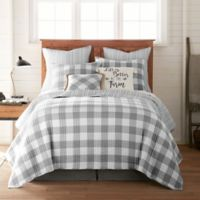 Bee & Willow™ Home Sawyer Reversible Twin Quilt in Grey