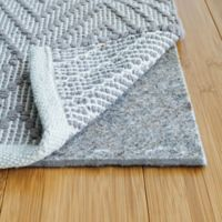 "Rug Pad USA® 2' x 8' Felt and Rubber 1/4"" Runner Pad in Black"