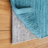 "Rug Pad USA® 2' x 10' Felt and Rubber 1/8"" Rug Pad in Black"
