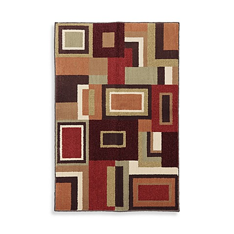 Mohawk Home Giles Area Rug In Bark Brown Bed Bath Beyond