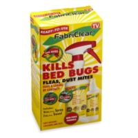 FabriClear™ Bed Bug, Flea and Dust Mite Exterminator
