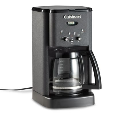 Grind And Brew Coffee Maker Bed Bath And Beyond : Cuisinart Brew Central 12-Cup Programmable Coffee Maker in Black Matte - Bed Bath & Beyond