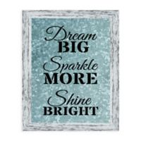 "Kay Berry Inc ""Dream Big"" Paper Wall Art in Neutral"