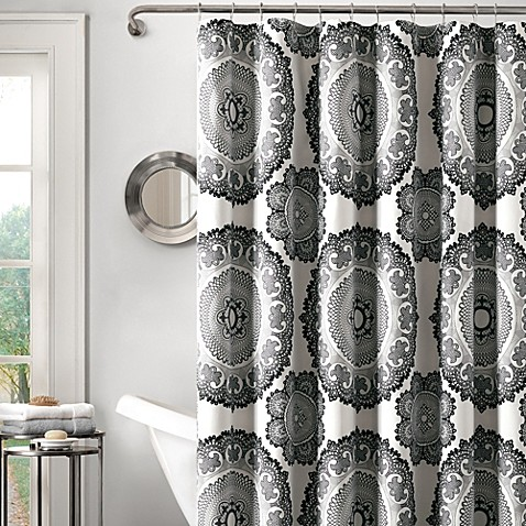 Delphine 72-Inch x 72-Inch Shower Curtain