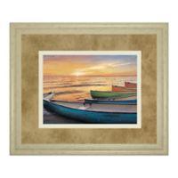 Classy Art Celebrate Life Gallery Rainbow Armada 40-Inch x 34-Inch Framed Wall Art with Trim