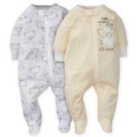 Gerber® Newborn 2-Pack Lamb Sleep 'n Play in Yellow